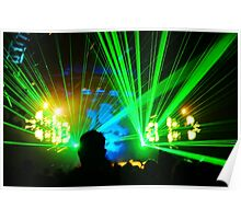 Trance Lasers Poster