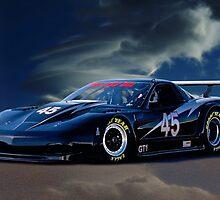 2010 Chevrolet Corvette GT1 Racecar by DaveKoontz