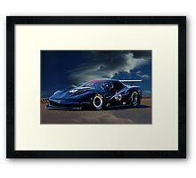 2010 Chevrolet Corvette GT1 Racecar Framed Print