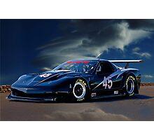 2010 Chevrolet Corvette GT1 Racecar Photographic Print