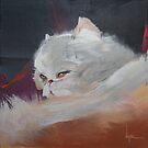 Kitty resting by DanielVijoi
