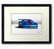 2004 Chevrolet Corvette SP Racecar  Framed Print