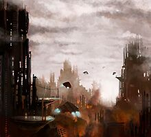 The Scorching of Metropolis by Colin Cramm