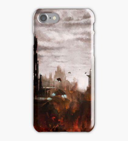 The Scorching of Metropolis iPhone Case/Skin