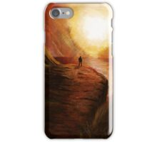 A Red Sunset View iPhone Case/Skin