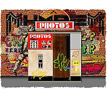 Urban Photobooth Photographic Print