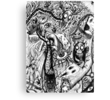 Creepys Canvas Print