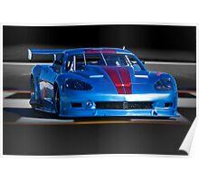 2004 Chevrolet Corvette SP Racecar Poster