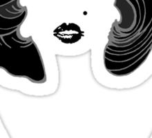 Marilyn Girlie Girl Sticker