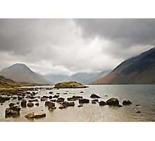 Clouds over Wast Water Photographic Print