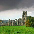"""""""Gentle Stroll to Fountains Abbey"""" by Bradley Shawn  Rabon"""