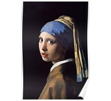 Girl With the Gauge Earring Poster