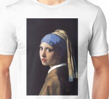 Girl With the Gauge Earring Unisex T-Shirt