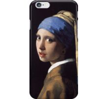 Girl With the Gauge Earring iPhone Case/Skin