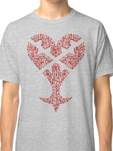 Key blade to my Heartless variant  Classic T-Shirt