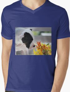 Birthday Bouquet Mens V-Neck T-Shirt