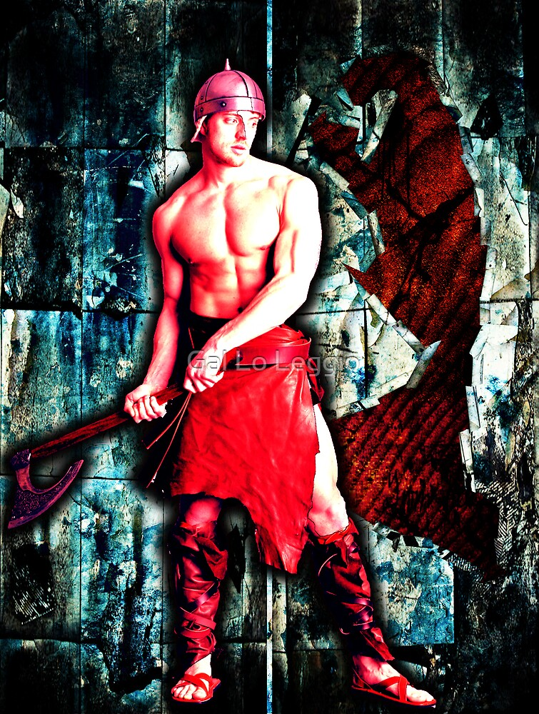 Red Warrior by Gal Lo Leggio