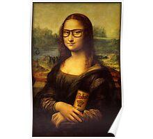 Hipster Lisa Poster