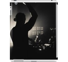 Nightclub Dj Silhouette iPad Case/Skin