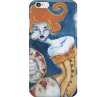 Little Tears - Corset Wearing Snake Girl iPhone Case/Skin