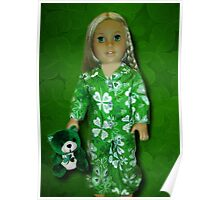 MY IRISH PIJAMAS MY TEDDY AND ME-MAY THE LUCK OF THE IRISH BE WITH U AND WITH ME -PICTURE AND OR CARD Poster
