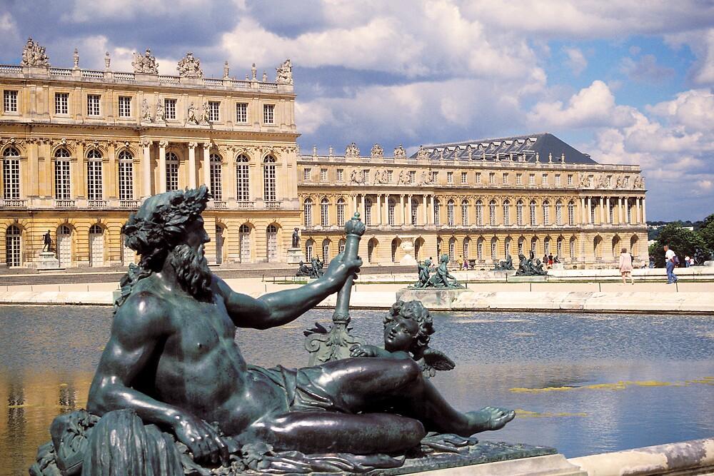 Neptune, Versailles by Virginia Maguire