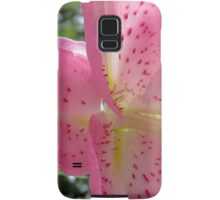 Lily Firework of Nature Samsung Galaxy Case/Skin