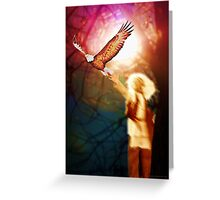 Seek Your Vision, For it is Time Greeting Card