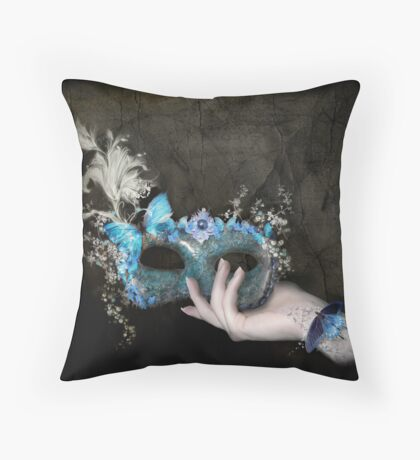 Forget Me Not Throw Pillow