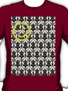 BBC Sherlock 'Bored Smiley Face'  T-Shirt