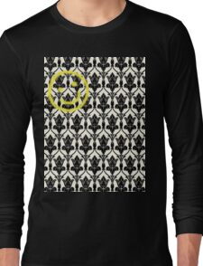 BBC Sherlock 'Bored Smiley Face'  Long Sleeve T-Shirt
