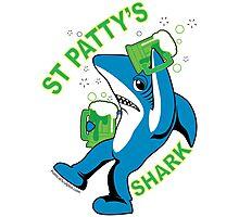 St. Patty's Left Shark  Photographic Print