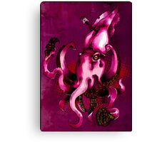 Squids N' stuff Canvas Print
