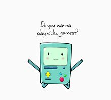 BMO - Do you wanna play video games? Unisex T-Shirt