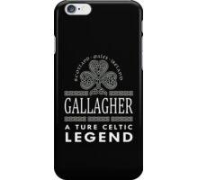 Scotland wales Ireland GALLAGHER a true celtic legend-T-shirts & Hoddies iPhone Case/Skin