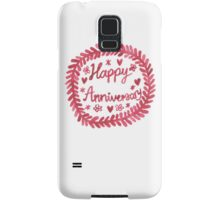 Happy Anniversary Samsung Galaxy Case/Skin