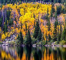 Bear Lake Autumn by Jon Burch