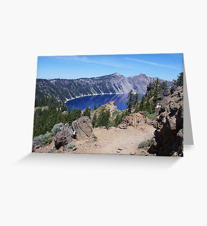 Rim Trail Greeting Card