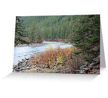 """Gallitin River"" Greeting Card"