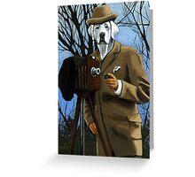 Herbert Adams - fantasy oil painting Greeting Card