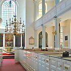 Old North Church - Boston Interior by Joseph Rieg
