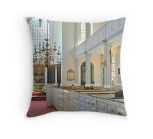 Old North Church - Boston Interior Throw Pillow