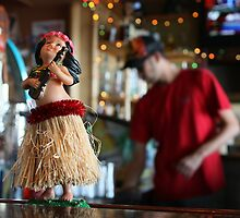Bar Top Hula Girl by J. Sprink