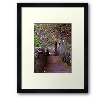 The Stair Way Framed Print