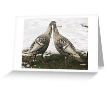Jive Turkeys Greeting Card