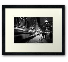 Fifth Ave. Framed Print