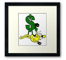 Money KO's Pac Man Framed Print