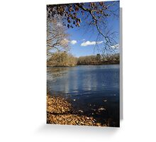 The calm after the storm Greeting Card