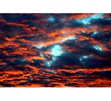 Lake Superior Sky Photographic Print