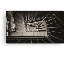 Stairs Spiral Canvas Print